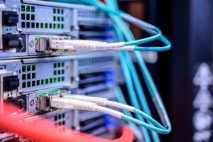 LC-Stecker Switch Serverraum