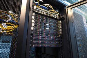 Server Rack Datenverteiler Rechenzentrum