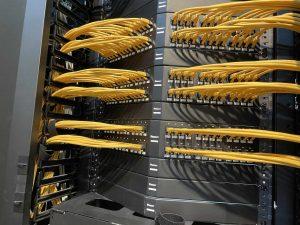 Patchsysteme im Datenverteiler Rack